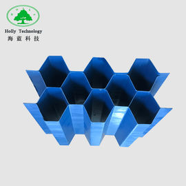 1000mm * 1000mm Lamella Plate Tube Settler Media For Industrial Waste Water Treatment