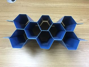 Hexagonal Honeycomb Plate Cooldeck Mbbr Media Tube Precipitation Treatment Medium